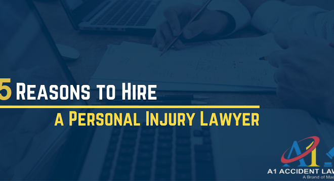 5 Reasons to Hire A Personal Injury Lawyer Orange County