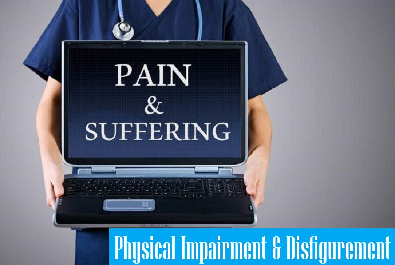 pain and suffering may not be calculated by adjuster