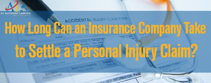 How long does it take to settle a personal injury claim?
