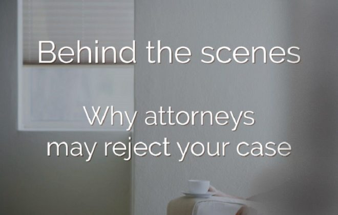 Why would a personal Injury Lawyer drop my case